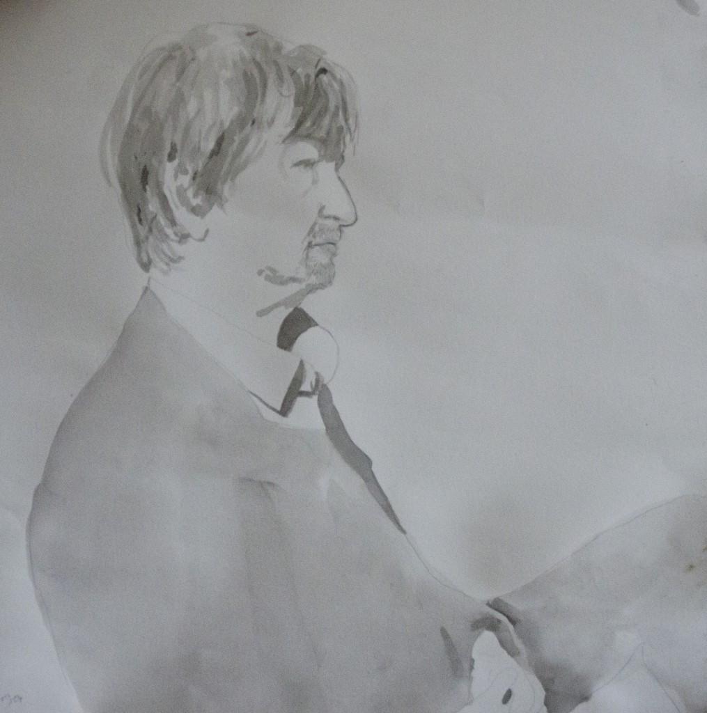 Ele Hettinga - tekening Christiaan Kuitwaard