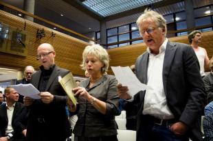Projekt-P, Frysk skriuwersprotest, mei hast elk oerein tsjin de neo-liberale kultuerpolityk fan de Provinsje