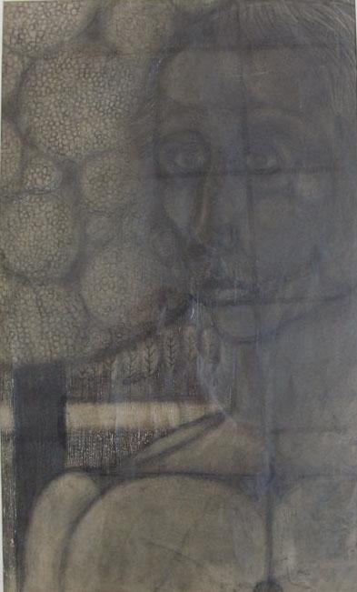 490 Sjoerd de Vries - zelfportret 1963