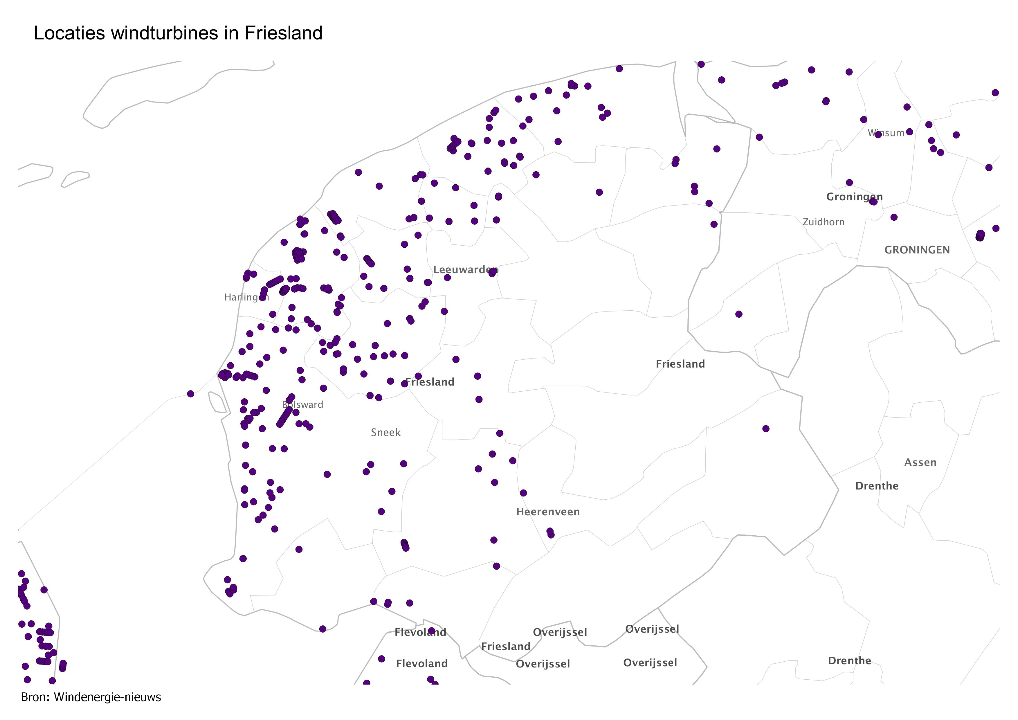 Kaart-locaties-Friesland1