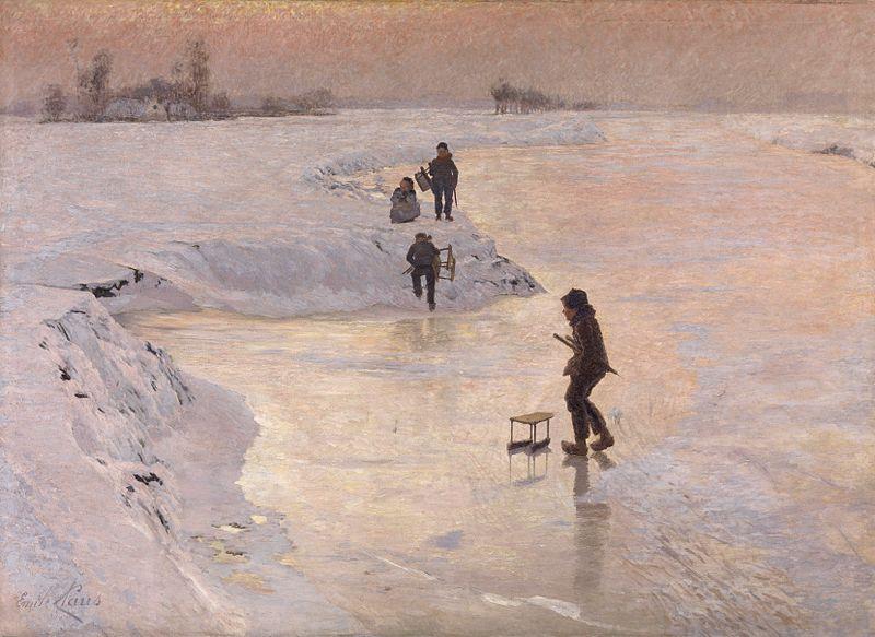 Emile_Claus_-_De_ijsvogels_(1891)