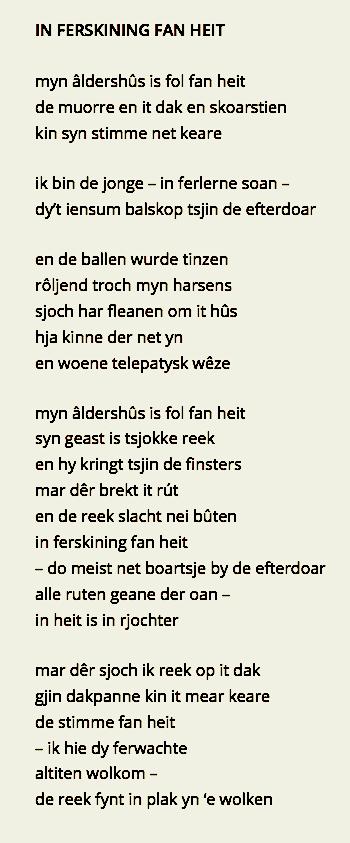1. In ferskining fan heit - Jelle de Jong