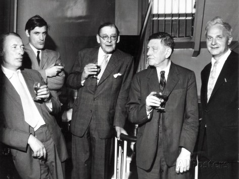 louis-mac-neice-ted-hughes-t-s-eliot-w-h-auden-stephen-spender-1960